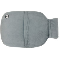 BIOS Living Massaging Hot Water Bottle Cover, Grey
