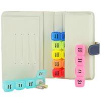 BIOS Living Medication Pill Box Wallet