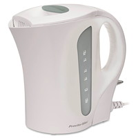 Proctor Silex Electric Kettle, White, 1.7 L