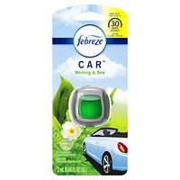 Febreze Car Vent Air Freshener Clip, Morning and Dew Scented