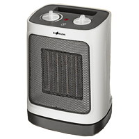 Ecohouzng Portable Ceramic Small Rooms Space Heater, White