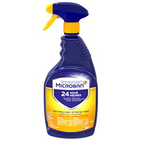 Microban 24 Hour Multi-Purpose Cleaner and Disinfectant Spray, Citrus Scent, 946 mL