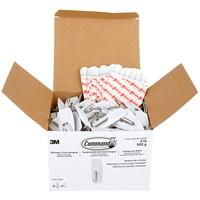 Command Wire Toggle Hooks, White, Medium, 2 lb Capacity, 35 Hooks/40 Strips