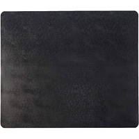 Deflecto EconoMat Studded-Back Vinyl Chairmat for Low Pile Carpets, Black, 45