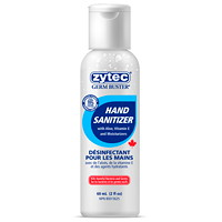 zytec Germ Buster Gel Hand Sanitizer with Aloe, Vitamin E and Moisturizers, 70% Alcohol, 60 mL
