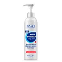 Désinfectant pour les mains en gel avec aloès, vitamine E et hydratants Germ Buster zytec, 70% d'alcool, bouteille avec pompe, 240ml