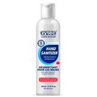 zytec Germ Buster Gel Hand Sanitizer with Aloe, Vitamin E and Moisturizers, 70% Alcohol, 100 mL