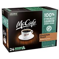 McCafé Premium Coffee K-Cup Pods, Medium Dark Roast, 24/BX