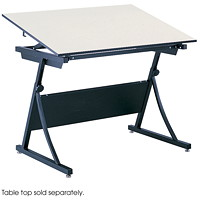 Safco PlanMaster Drafting Table Base, Black