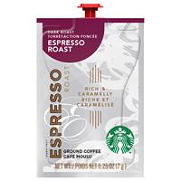 Flavia Starbucks Single-Serve Coffee Freshpacks, Espresso Dark Roast, 72/CT