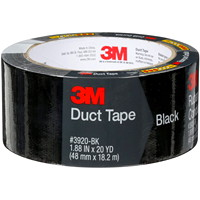 3M 3920 General Purpose Duct Tape, Black, 48 mm x 18.2 m