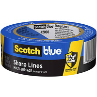 ScotchBlue 2093 Sharp Lines Multi-Surface Painter's Tape, 36 mm x 54.8 m