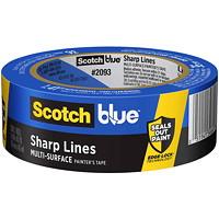 ScotchBlue 2093 Sharp Lines Multi-Surface Painter's Tape, 36 mm x 54.8 m