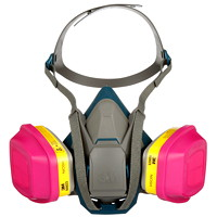 3M Cool Flow P100 Multi-Purpose Particulate Respirator, Reusable, Grey