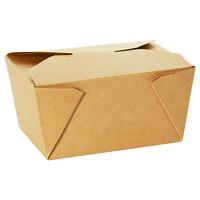 Contenants pour pr?™t à emporter iECO, carton Kraft, format nº8, 151/5po x 114/5po x 61/5po, caisse de 200
