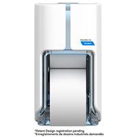 Distributeur de papier hygiénique haute capacité à deux rouleaux Tandem Cascades PRO, blanc