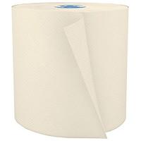 Rouleaux d'essuie-mains 1 épaisseur pour distributeur Tandem Cascades PRO Perform, latté, 775pi, caisse de 6