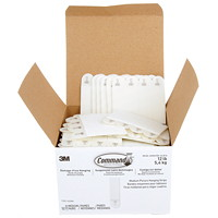 Command Picture Hanging Strips Value Pack, Medium, 3 lb Capacity, 132/BX