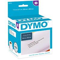 DYMO LabelWriter Address Thermal Labels, White, 1 1/8