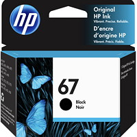 HP 67 Standard Yield Ink Cartridge (3YM56AN)