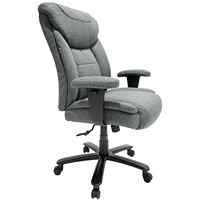 TygerClaw Big and Tall Executive Chair, Grey