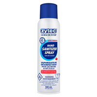 zytec Germ Buster Hand Sanitizer Spray, 80% Alcohol Content, 500 mL