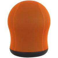 Safco Zenergy Swivel Ball Chair, Orange, Mesh