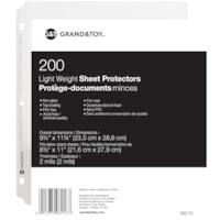 G&T SHEET PROT 2.0MIL NO GLARE