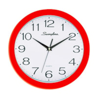 Swingline Fashion Clock, Red