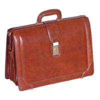 Mancini Signature Collection Laptop Compatible Litigator Briefcase