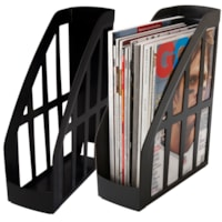 Porte-revue recyclé Storex