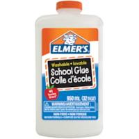 Colle d'écolier lavable Elmer's, blanc, 950 ml