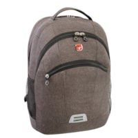 SwissGear Multi-Use Computer Backpack, Grey, Fits Laptops Up To 17