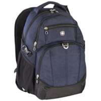 SwissGear Laptop Backpack, Navy, Fits Laptops up to 15.6