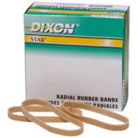 Bandes élastiques radiales Star Dixon, taille nº 64, boîte de 1/4 lb