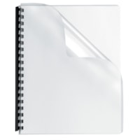 Fellowes Oversize Transparent Binder Covers With Rounded Corners