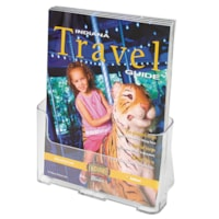 Grand & Toy DocuHolder, Clear, Single Pocket for Magazine-Size Literature