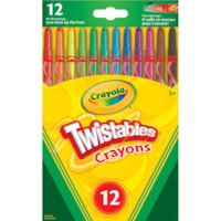 Crayola Twistables Crayons, Assorted Colours, 12/PK