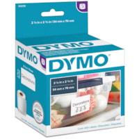 DYMO LabelWriter Large Multi-Purpose Thermal Labels, White, 2 1/8
