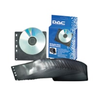 DAC Double-Sided CD/DVD Pockets