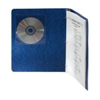 Pochettes adhésives pour CD/DVD Fellowes