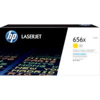 Cartouche de toner d'origine à rendement élevé HP LaserJet 656X (CF462X), jaune