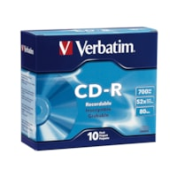 Verbatim CD-R With Slim Cases