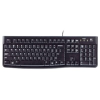 Logitech Wired Keyboard, English, Black (K120)