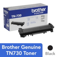 Brother Black Standard Yield Laser Toner Cartridge (TN730)