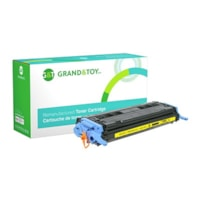 Grand & Toy Remanufactured HP 124A Yellow Standard Yield Toner Cartridge (Q6002A)