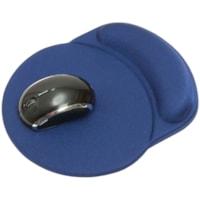 DAC Super-Gel Mouse Pad/Wrist Rest, Racetrack Design, Blue (MP-123)