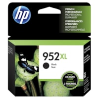 HP 952XL Black High Yield Ink Cartridge (F6U19AN)