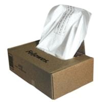 Sacs pour déchiqueteuses Powershred Fellowes 420 425 et 485, transparent, boîte de 50