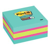 Feuillets super collants Post-it, 3 po x 3 po, couleurs variées, cube de 360 feuillets